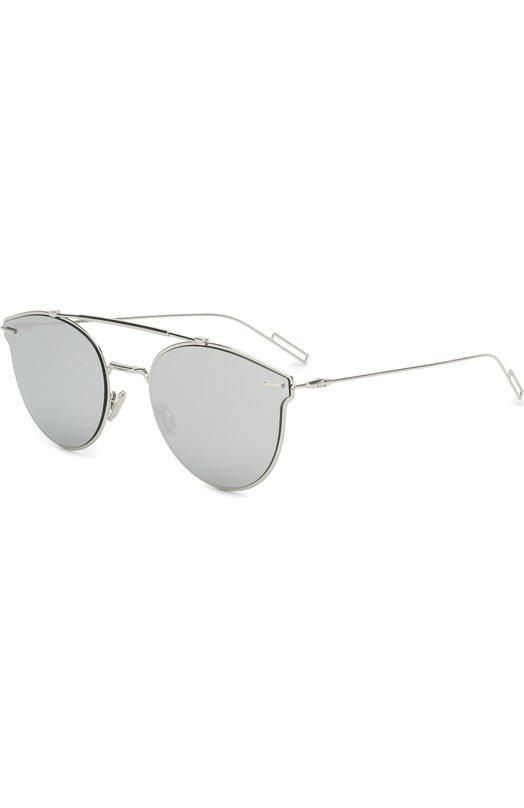 Купить Солнцезащитные очки Dior, DI0RPRESSURE 010, Италия, Серебряный