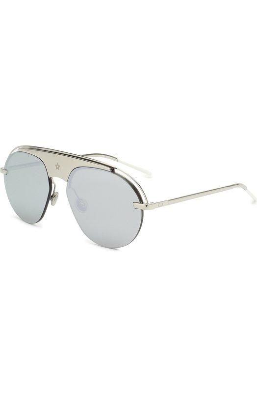Купить Солнцезащитные очки Dior, DI0REV0LUTI2 010, Италия, Серебряный