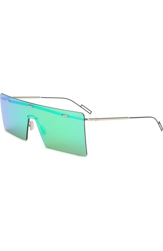 Купить Солнцезащитные очки Dior, HARDI0R KTU 48, Италия, Зеленый