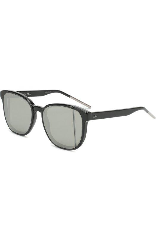 Купить Солнцезащитные очки Dior, DI0RSTEP 807, Италия, Темно-серый