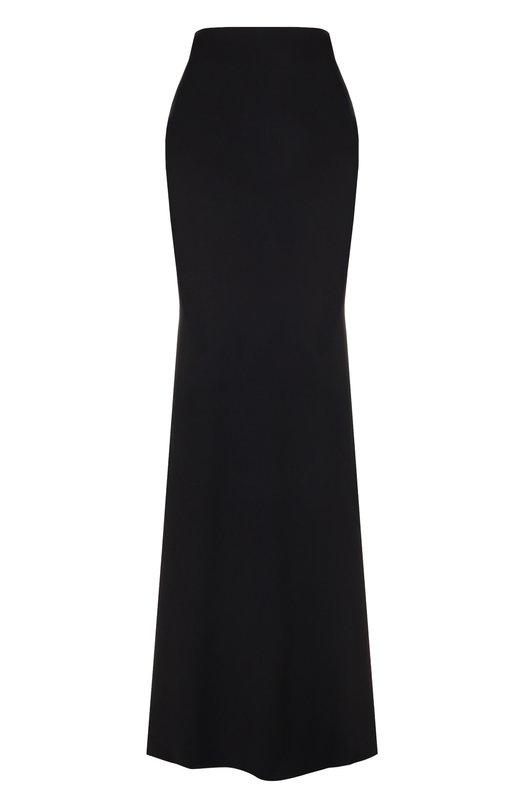 Однотонная расклешенная юбка-макси Alexander McQueen Alexander McQueen