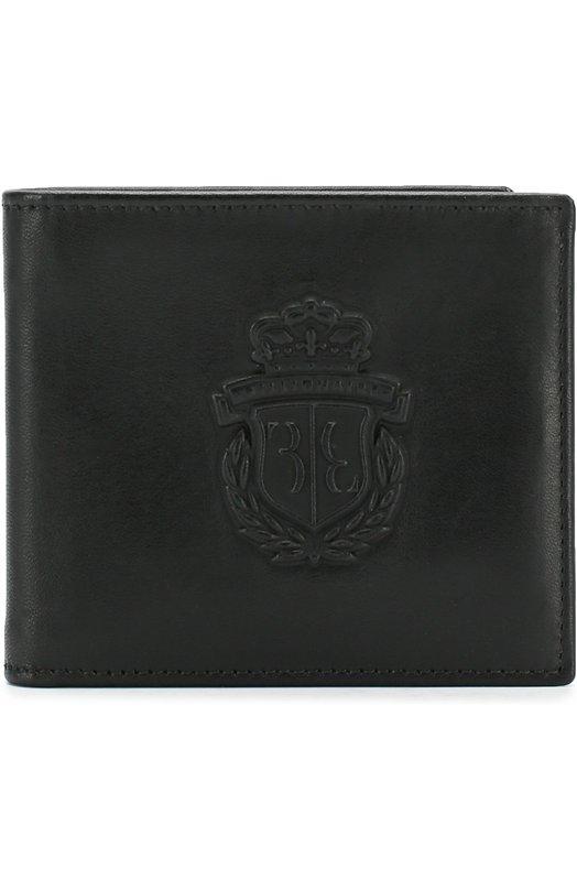 Купить Кожаное портмоне с отделениями для кредитных карт Billionaire, B18A MVG_0084 BLE042N, Италия, Черный, Кожа натуральная: 100%;