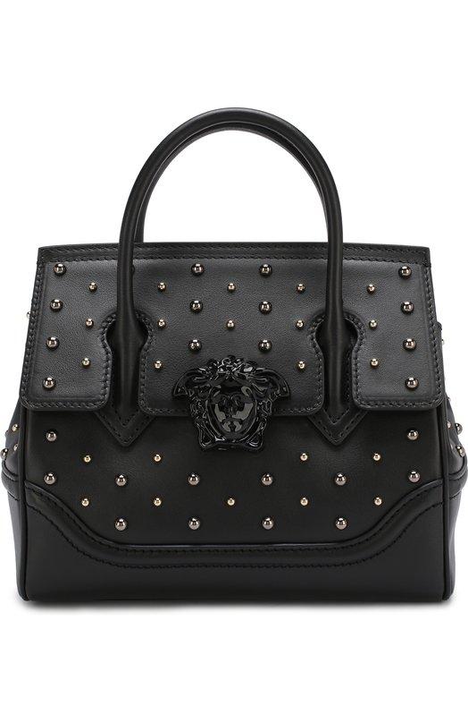 Купить Сумка Palazzo Empire Versace, DBFF452/DSTVB, Италия, Черный, Кожа натуральная: 100%;
