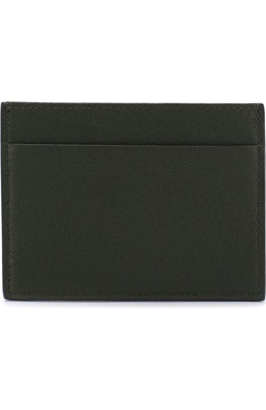 Купить Кожаный футляр для кредитных карт Giorgio Armani, Y2R099/YDH4J, Италия, Зеленый, Кожа натуральная: 100%;