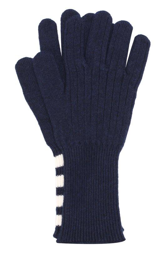 Кашемировые вязаные перчатки Thom Browne