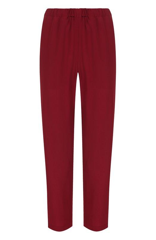 Однотонные укороченные брюки Marni