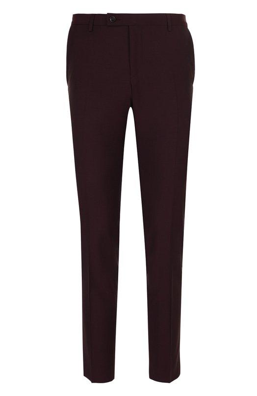 Купить Шерстяные брюки прямого кроя Sand, M0HAIR/CRAIG, Португалия, Бордовый, Шерсть: 84%; Подкладка-ацетат: 60%; Подкладка-вискоза: 40%; Мохер: 16%;