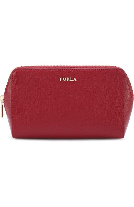 Купить Набор косметичек из тисненой сафьяновой кожи Electra Furla, EL95/B30, Китай, Красный, Кожа натуральная: 100%;