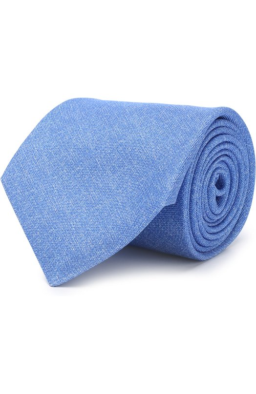 Купить Шелковый галстук Kiton, UCRVKAC09E9310000, Италия, Голубой, Шелк: 100%;