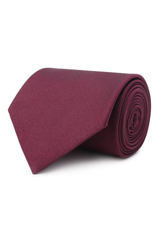 Купить Шелковый галстук Brioni, 062H00/PZ418, Италия, Бордовый, Шелк: 100%;