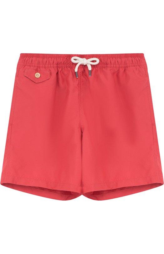 Купить Шорты на кулиске Polo Ralph Lauren, 323682684, Китай, Красный, Полиэстер: 100%; Подкладка-полиэстер: 100%;
