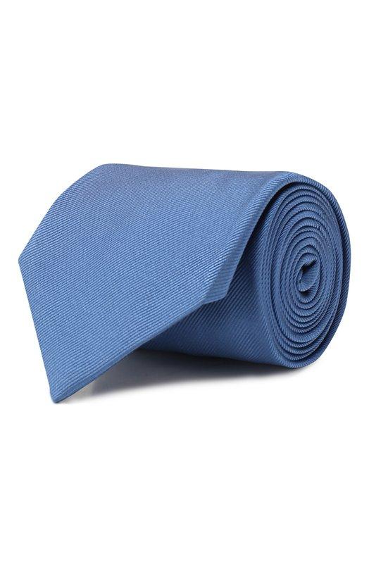 Купить Шелковый галстук Brioni, 062H00/PZ418, Италия, Голубой, Шелк: 100%;