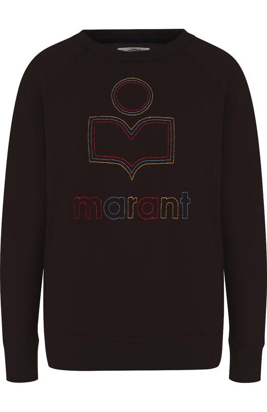 Хлопковый свитшот с логотипом бренда Isabel Marant Etoile Isabel Marant Étoile