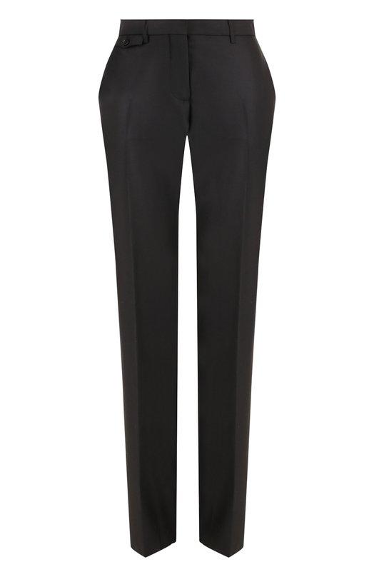 Однотонные шерстяные брюки со стрелками Burberry, Burberry