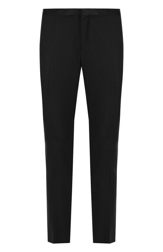 Купить Шерстяные брюки прямого кроя Lanvin, RMTR0027-M00600ALS, Италия, Черный, Шерсть: 84%; Мохер: 16%; Подкладка-вискоза: 100%;
