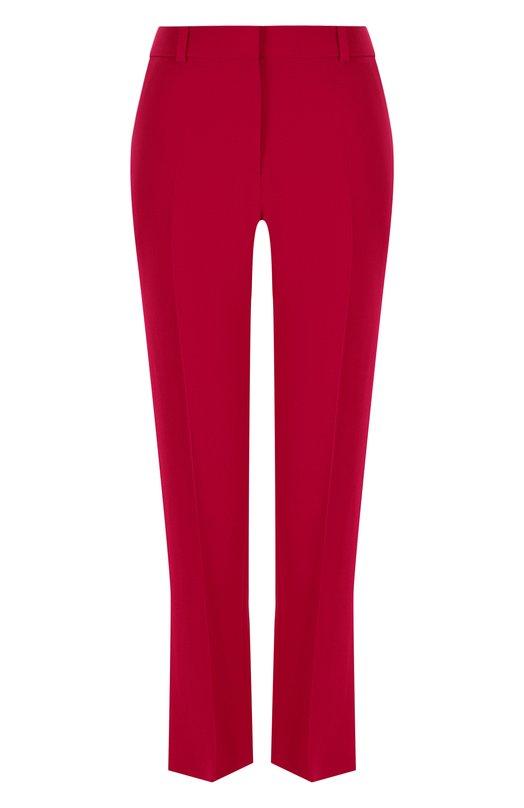 Купить Укороченные расклешенные брюки со стрелками Givenchy, BW501V103C, Италия, Фуксия, Вискоза: 95%; Эластан: 5%;
