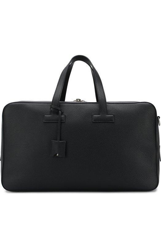 Кожаная дорожная сумка с плечевым ремнем Tom Ford