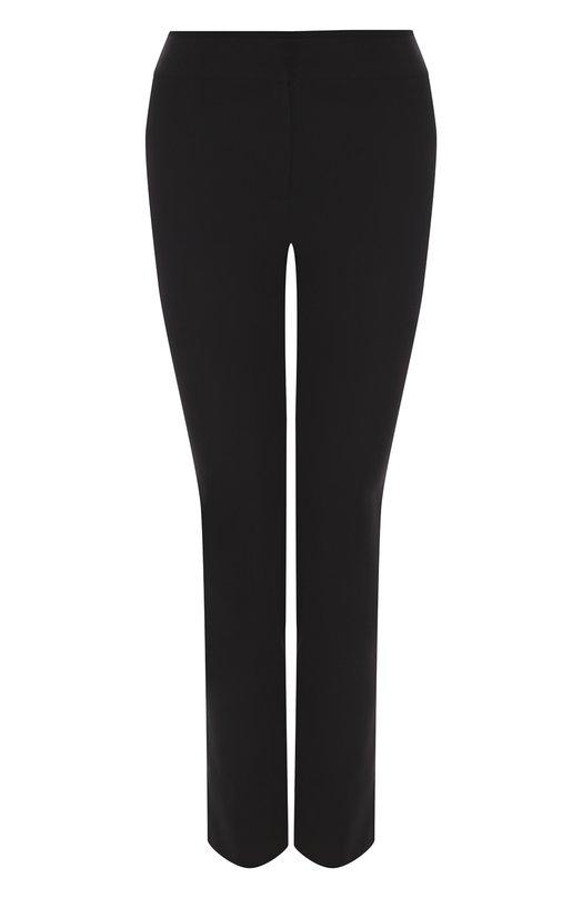 Купить Однотонные укороченные брюки со стрелками Emporio Armani, 0NP02T/0M015, Китай, Черный, Полиэстер: 100%;