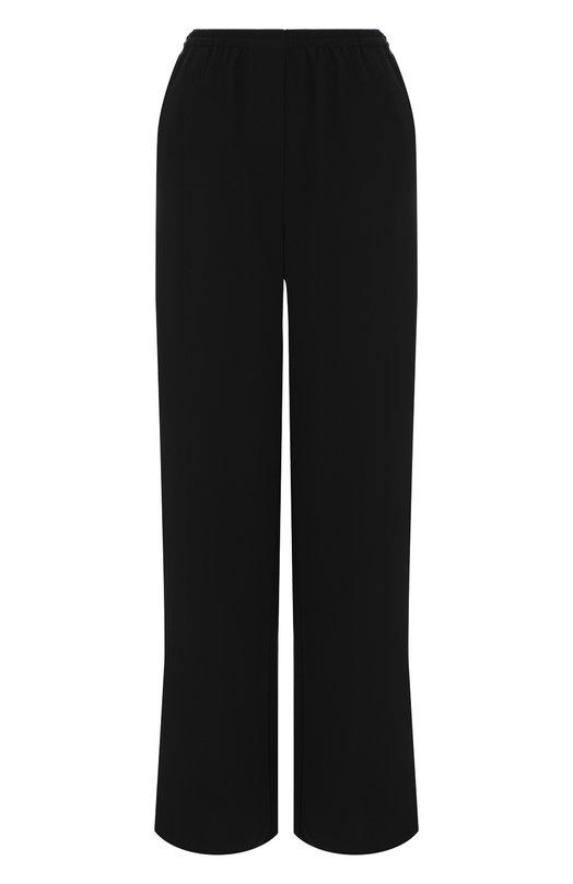 Купить Однотонные брюки с эластичным поясом и карманами Emporio Armani, WNP21T/WM015, Китай, Черный, Полиэстер: 100%;