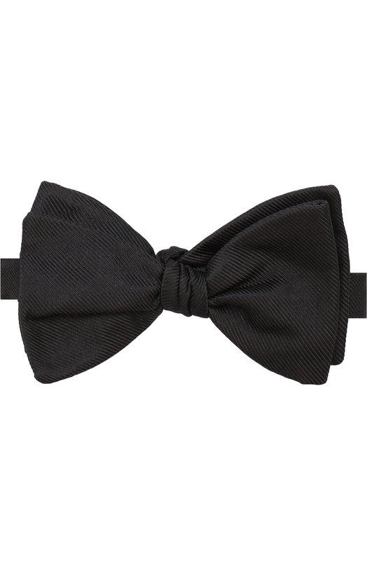Купить Шелковый галстук-бабочка Eton, A000 30225, Великобритания, Черный, Шелк: 100%;
