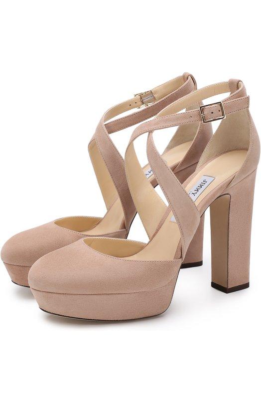 Замшевые туфли Joyce 120 Jimmy Choo