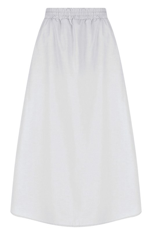 Купить Однотонная хлопковая юбка-миди Walk of Shame, SK010-PS18, Россия, Серый, Хлопок: 100%;