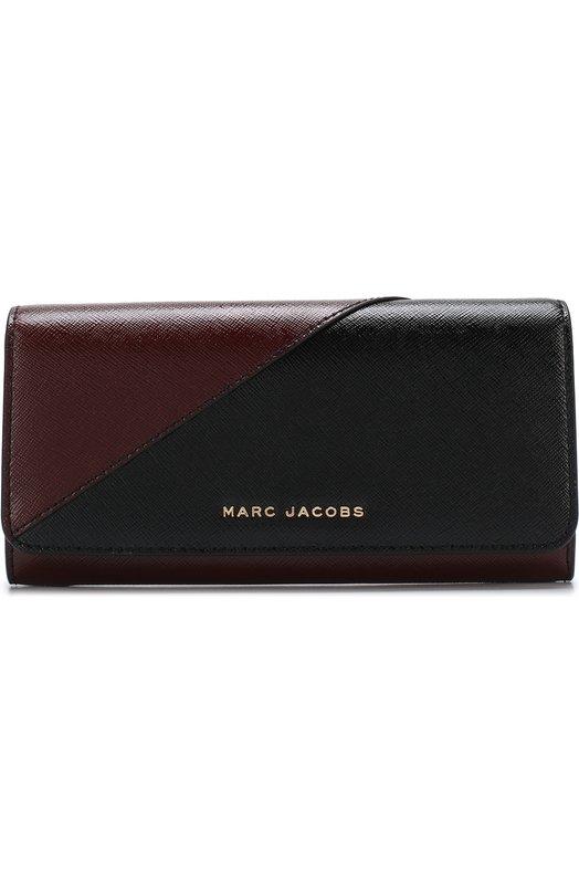 Купить Кожаное портмоне Marc Jacobs, M0013332, Китай, Черный, Кожа натуральная: 100%;