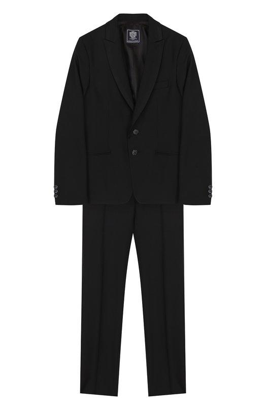 Шерстяной костюм-смокинг Dal Lago