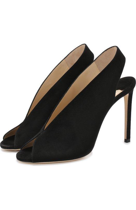 Замшевые туфли Shar 100 на шпильке Jimmy Choo Jimmy Choo