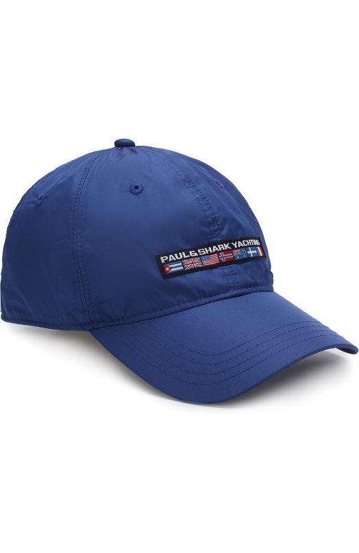 Купить Бейсболка с логотипом бренда Paul&Shark, E18P7100, Италия, Синий, Полиэстер: 100%; Подкладка-хлопок: 100%;