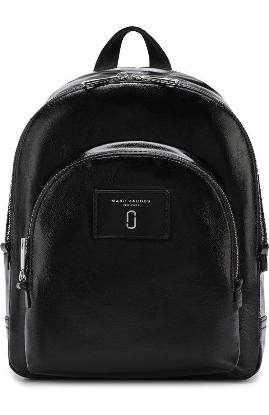 Купить Рюкзак Double Pack Marc Jacobs, M0013258, Китай, Черный, Кожа натуральная: 100%;