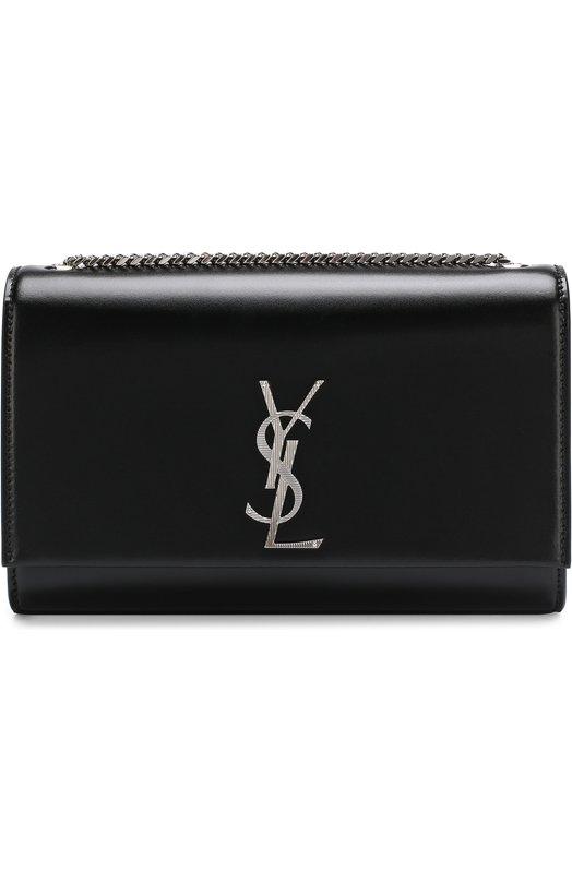 Купить Сумка Monogram Kate medium Saint Laurent, 495878/0CQ0N, Италия, Черный, Кожа натуральная: 100%;