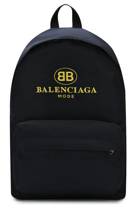 Купить Текстильный рюкзак Explorer с логотипом бренда Balenciaga, 503221/9D0B5, Италия, Синий, Текстиль: 100%;