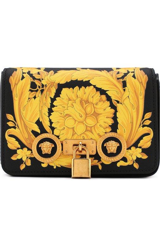 Купить Сумка Barocco Versace, DBFG305/DV2BAR, Италия, Желтый, Кожа натуральная: 100%;