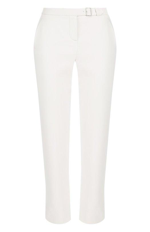 Купить Укороченные хлопковые брюки с карманами Loro Piana, FAI0937, Италия, Светло-серый, Хлопок: 100%;