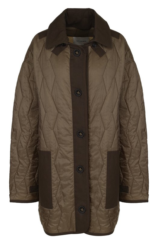 Стеганая куртка свободного кроя Yves Salomon Yves Salomon