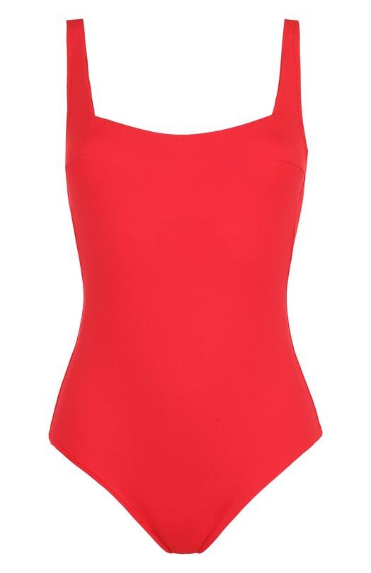 Купить Однотонный слитный купальник с открытой спиной Ritratti Milano, 68991, Италия, Красный, Полиамид: 86%; Эластан: 14%;