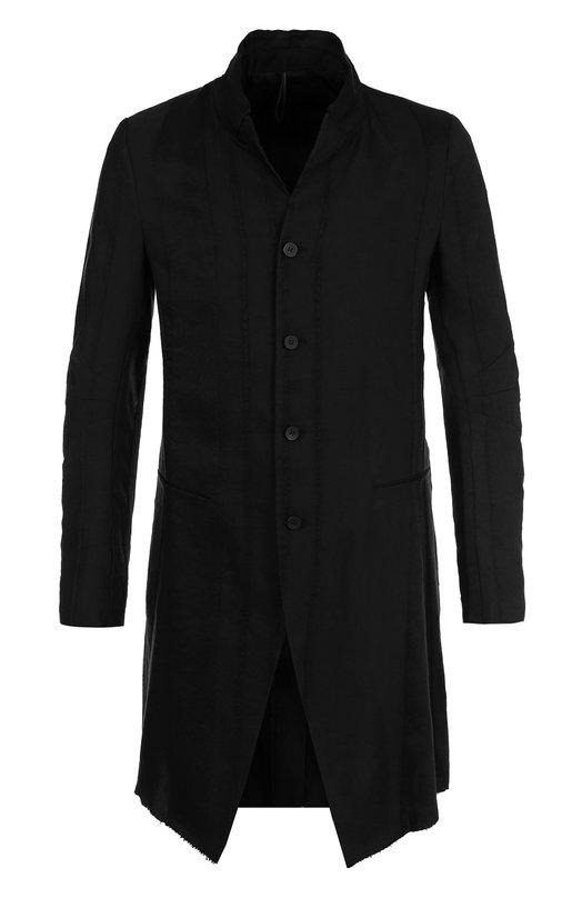 Удлиненный пиджак из смеси льна и вискозы Masnada