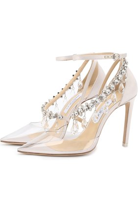 Туфли Victoria с декором Jimmy Choo x OFF-WHITE