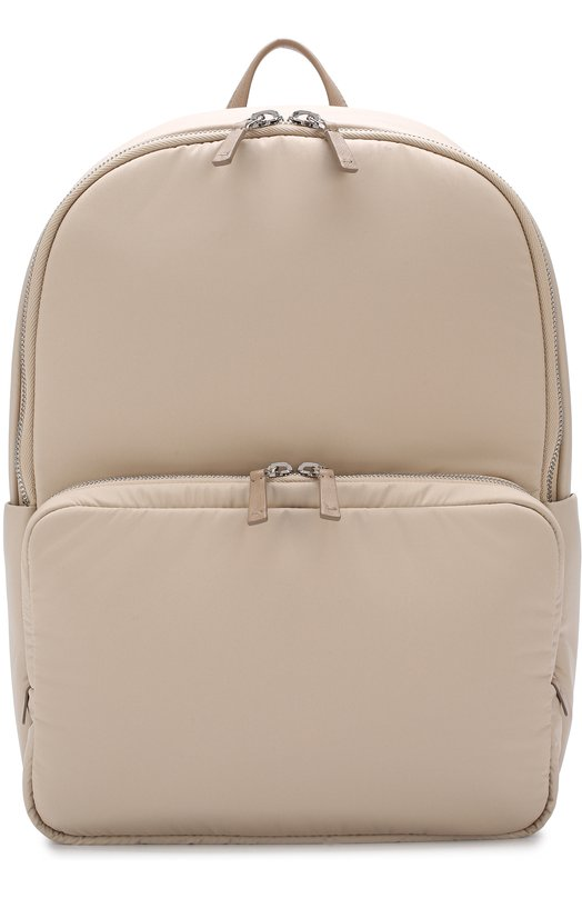 Текстильный рюкзак Voyager City с кожаной отделкой Loro Piana