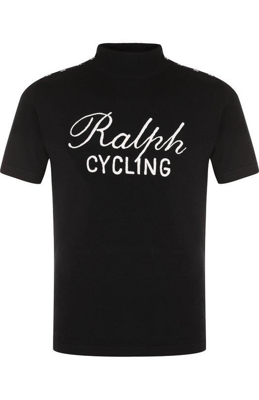 Шерстяной джемпер с короткими рукавами Ralph Lauren