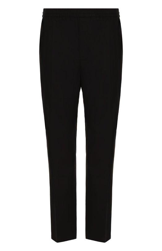 Купить Хлопковые брюки прямого кроя с поясом на резинке Golden Goose Deluxe Brand, G32MP511.C2, Италия, Черный, Хлопок: 98%; Эластан: 2%;