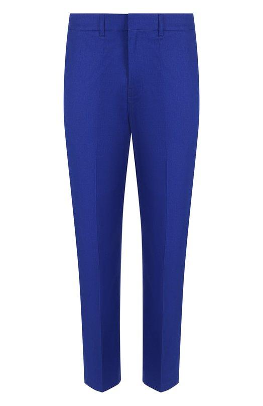 Купить Хлопковые брюки прямого кроя Golden Goose Deluxe Brand, G32MP502.B2, Италия, Синий, Хлопок: 100%;