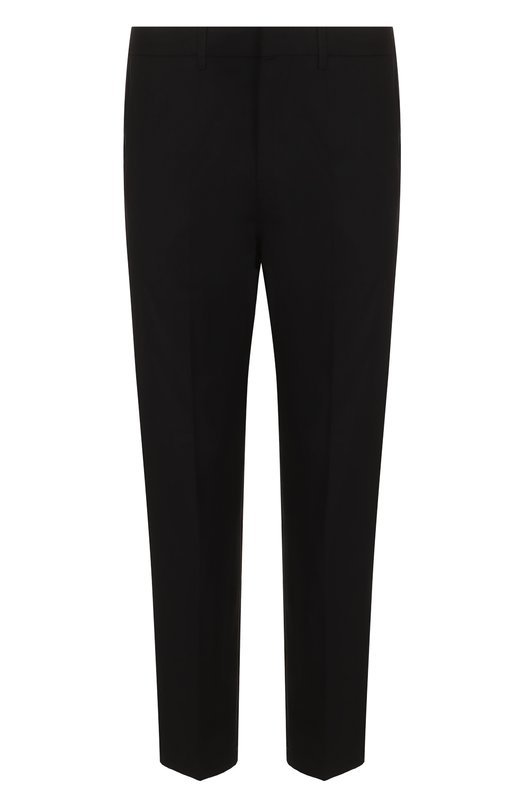 Хлопковые брюки прямого кроя с лампасами Golden Goose Deluxe Brand, G32MP502.C1, Италия, Черный, Хлопок: 100%;  - купить