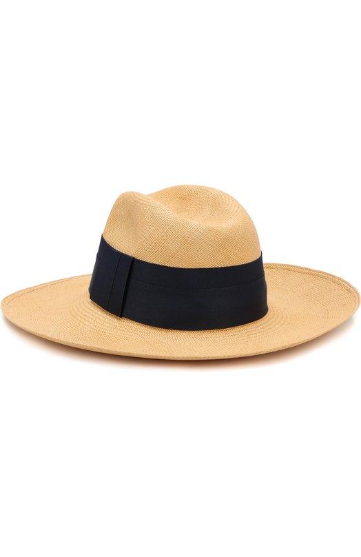 Купить Соломенная шляпа с лентой Artesano, CWE310-401, Эквадор, Бежевый, Солома: 100%;