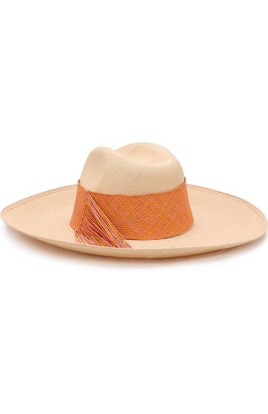 Купить Соломенная шляпа с плетеной лентой Artesano, CWE314-403, Эквадор, Кремовый, Соломка: 100%;