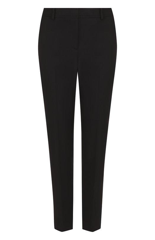 Купить Укороченные однотонные брюки из хлопка M Missoni, PD3RB0612MT, Румыния, Черный, Хлопок: 100%;