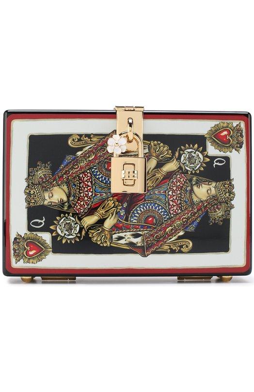 Купить Сумка Dolce Box Dolce & Gabbana, BB6237/AN865, Италия, Разноцветный, Пластик: 100%;