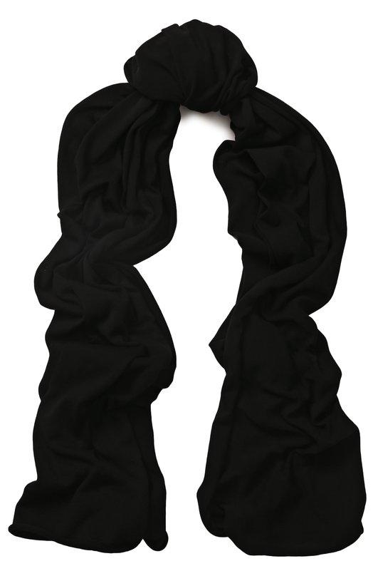 Купить Хлопковый шарф Isabel Benenato, UK17S18, Италия, Черный, Хлопок: 100%;