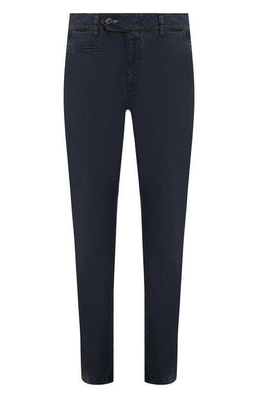 Купить Хлопковые брюки прямого кроя Bogner, 18253154, Румыния, Темно-синий, Хлопок: 100%;